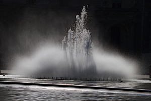 Fountain at The Louvre[1]